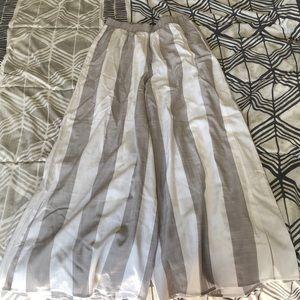 Beautiful striped women's pants